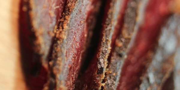 Veal jerky, 2% fat