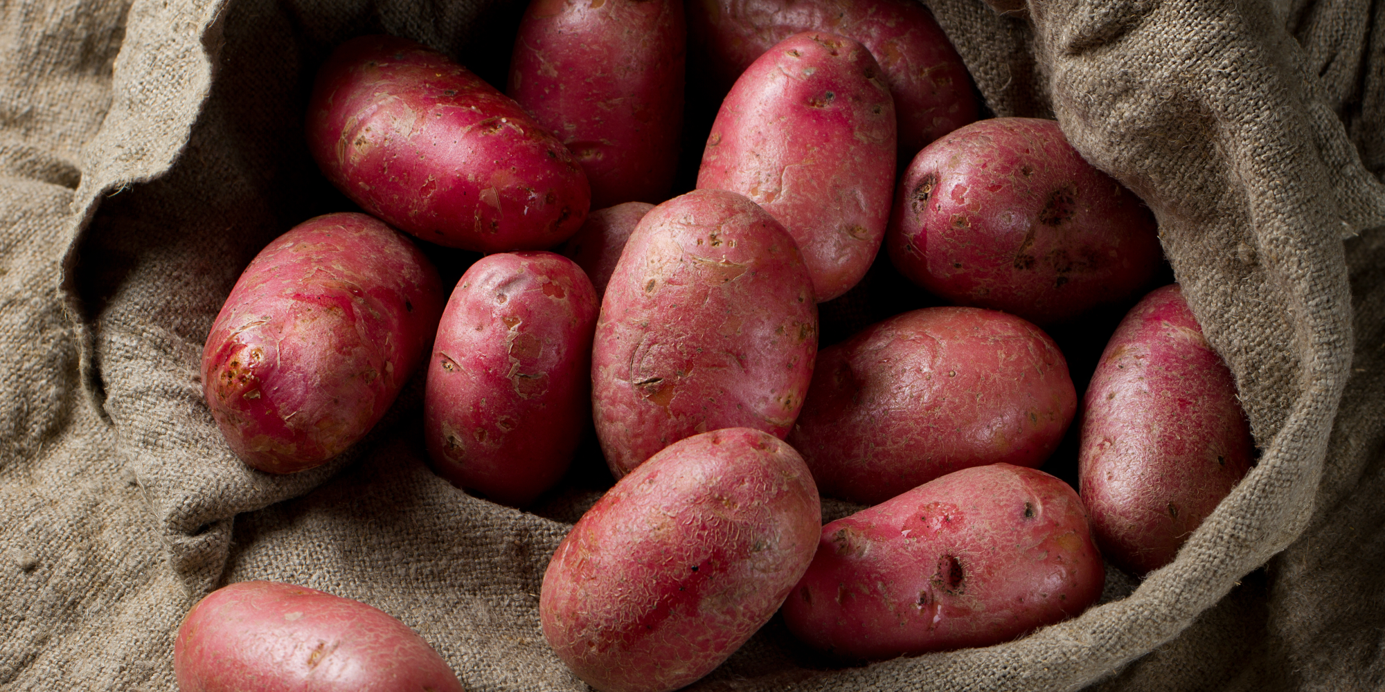 Red potatoes boiled
