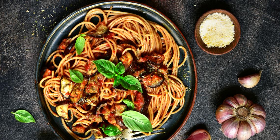 Spaghetti 100% whole wheat cooked