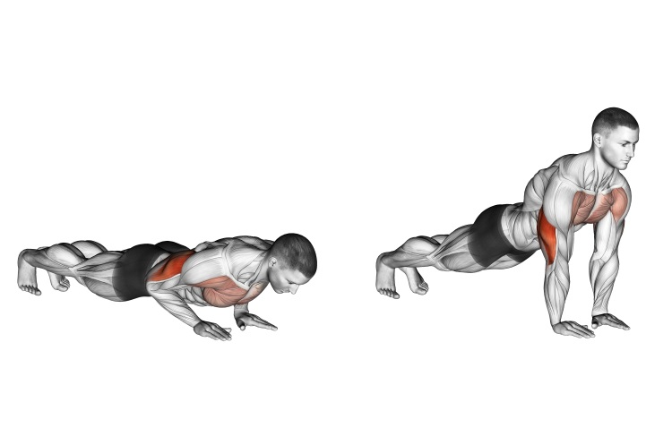 Close Grip Push-ups