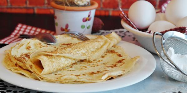 Whole wheat pancakes 100%