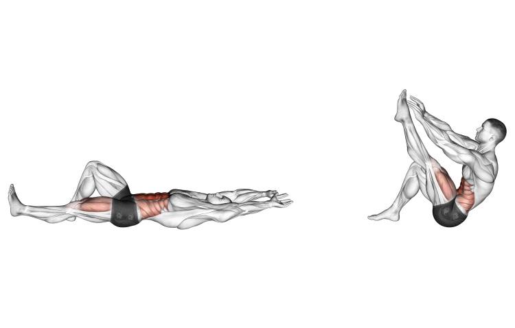 Stretching - Flexion Leg Sit-up