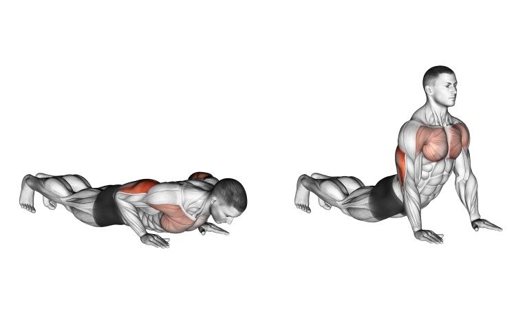 Stretching - Reverse Dip