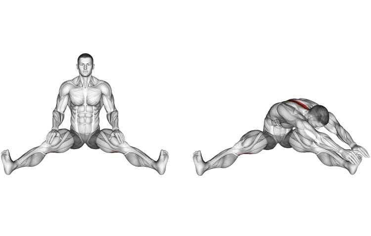 Stretching - Seated Wide Angle Pose Sequence