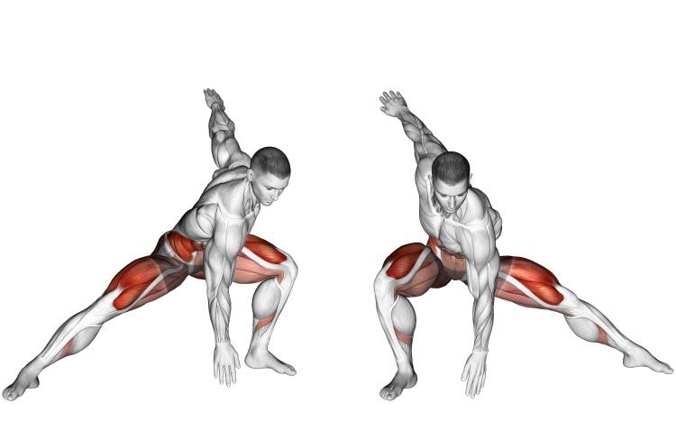Stretching - Plyo Side Lunge Stretch